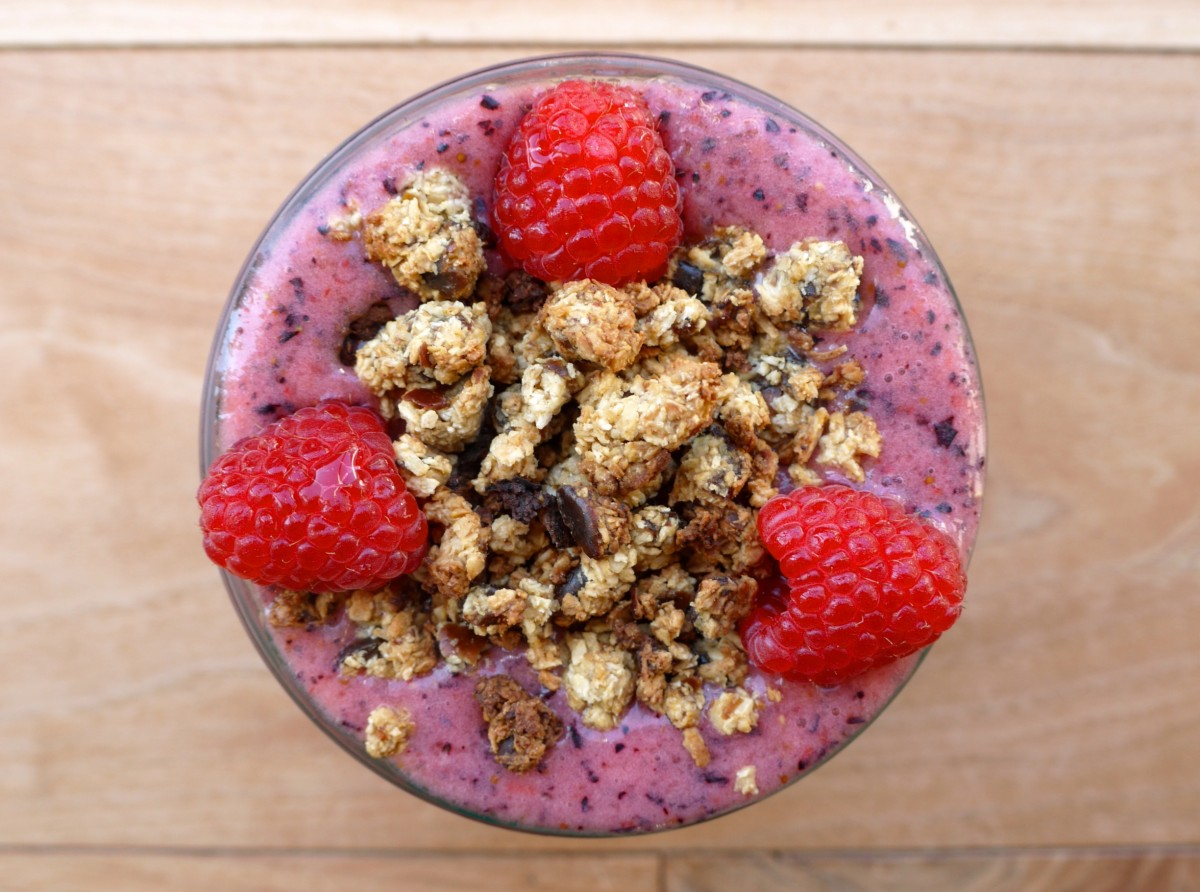 Vanilla-Berry Bowl