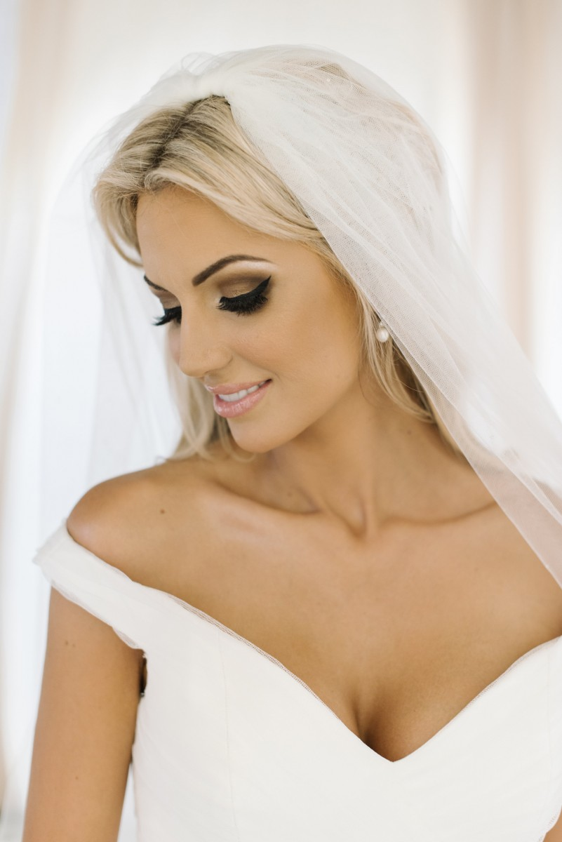 wedding day hair and make-up - rosanna davison nutrition