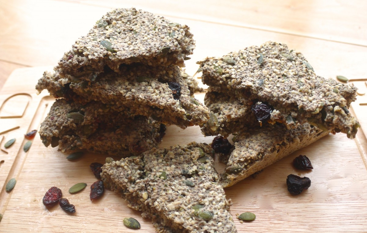 Chia-Cranberry Energy Bread