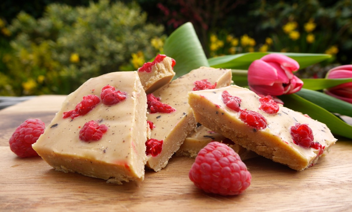 Raspberry and Vanilla White Chocolate