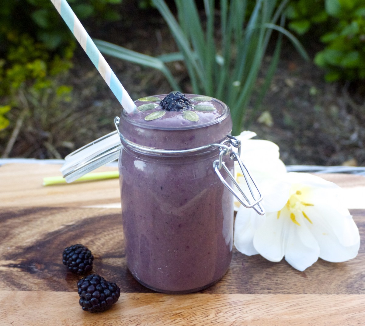 Purple Power Fertility Smoothie