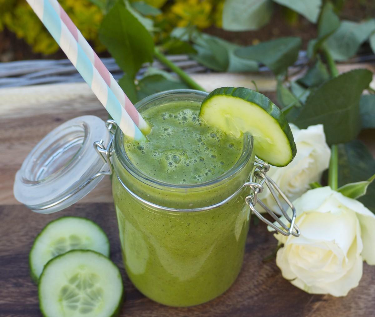 Kiwi-Cucumber Cooler