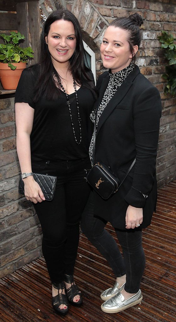 Triona McCarthy and Corina Gaffey