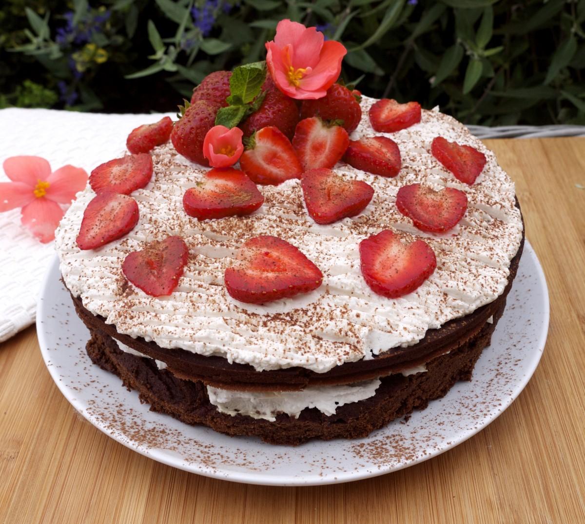 Chocolate Fudge Cake With Vanilla Icing Rosanna Davison Nutrition