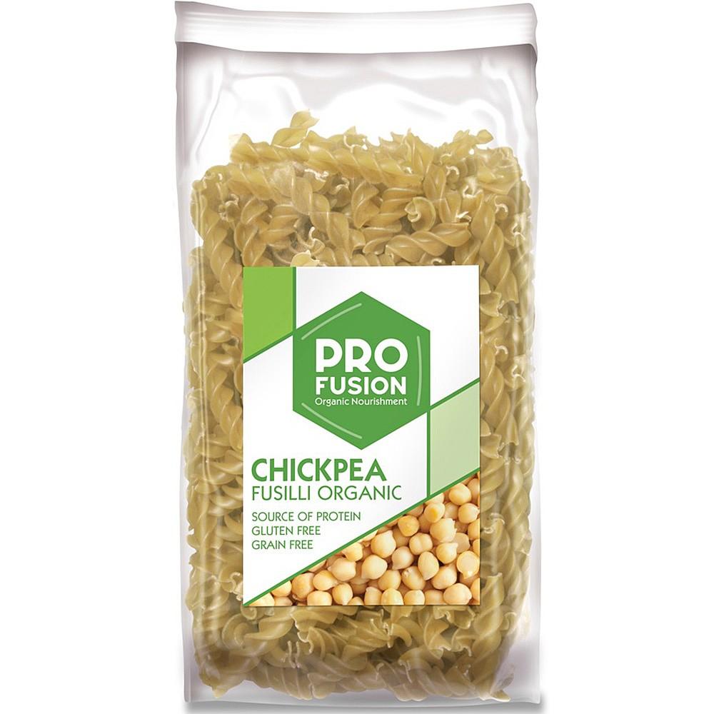 Organic chickpea pasta