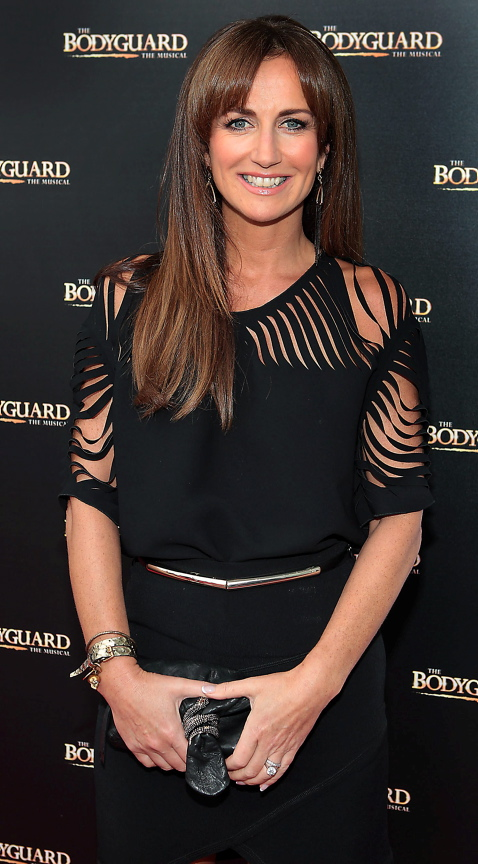 Lorraine Keane at the opening night of the musical The Bodyguard at the Bord Gais Energy Theatre,Dublin. Picture:Brian McEvoy No repro fee for one use