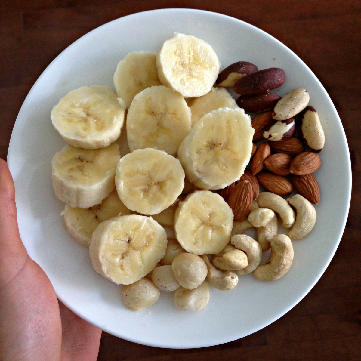 Banana-and-nuts