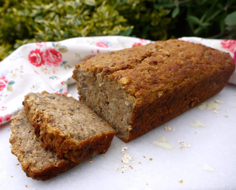 Nutty Banana Bread - Rosanna Davison Nutrition