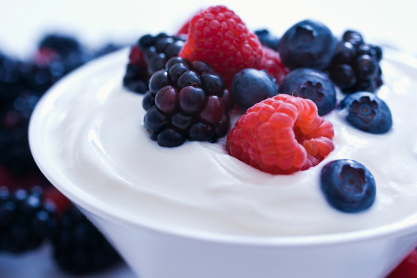 Fruit-and-yogurt