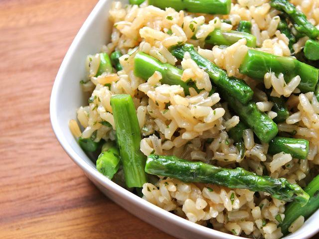 asparagus-cilantro-rice