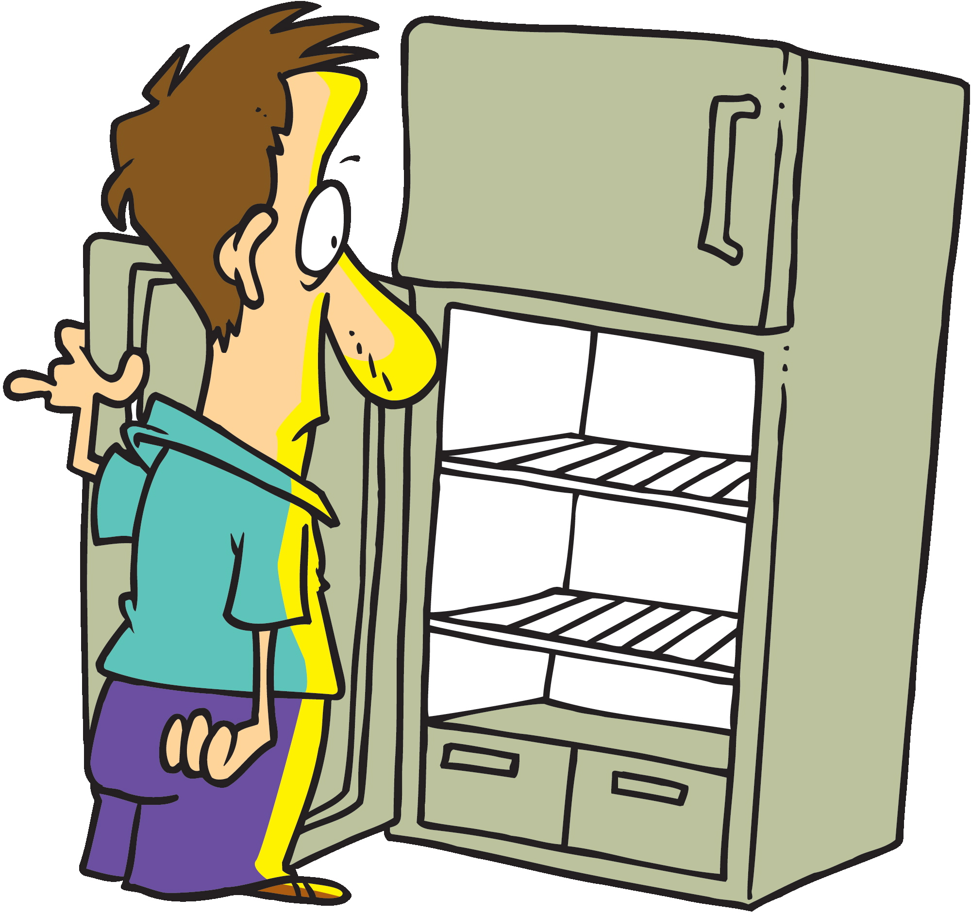 didn-t-think-i-had-any-food-in-the-house-so-i-just-started-e0Ofsg-clipart