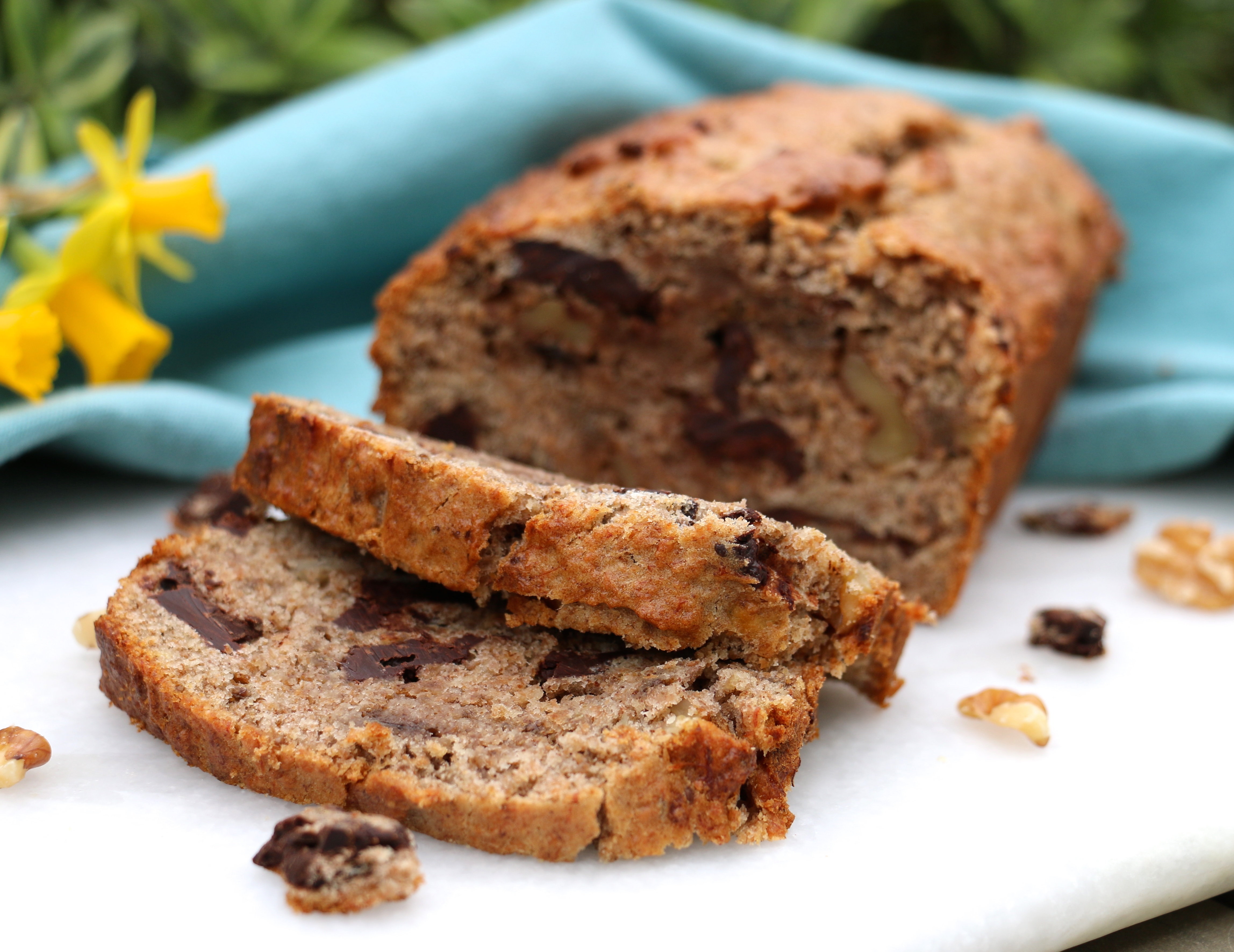 Chocolate chunk wholemeal banana bread rosanna davison nutrition crunchy walnut pieces make a nutritious addition to this naturally sweetened loaf although chopped pecans almonds or hazelnuts would be just as tasty and forumfinder Images
