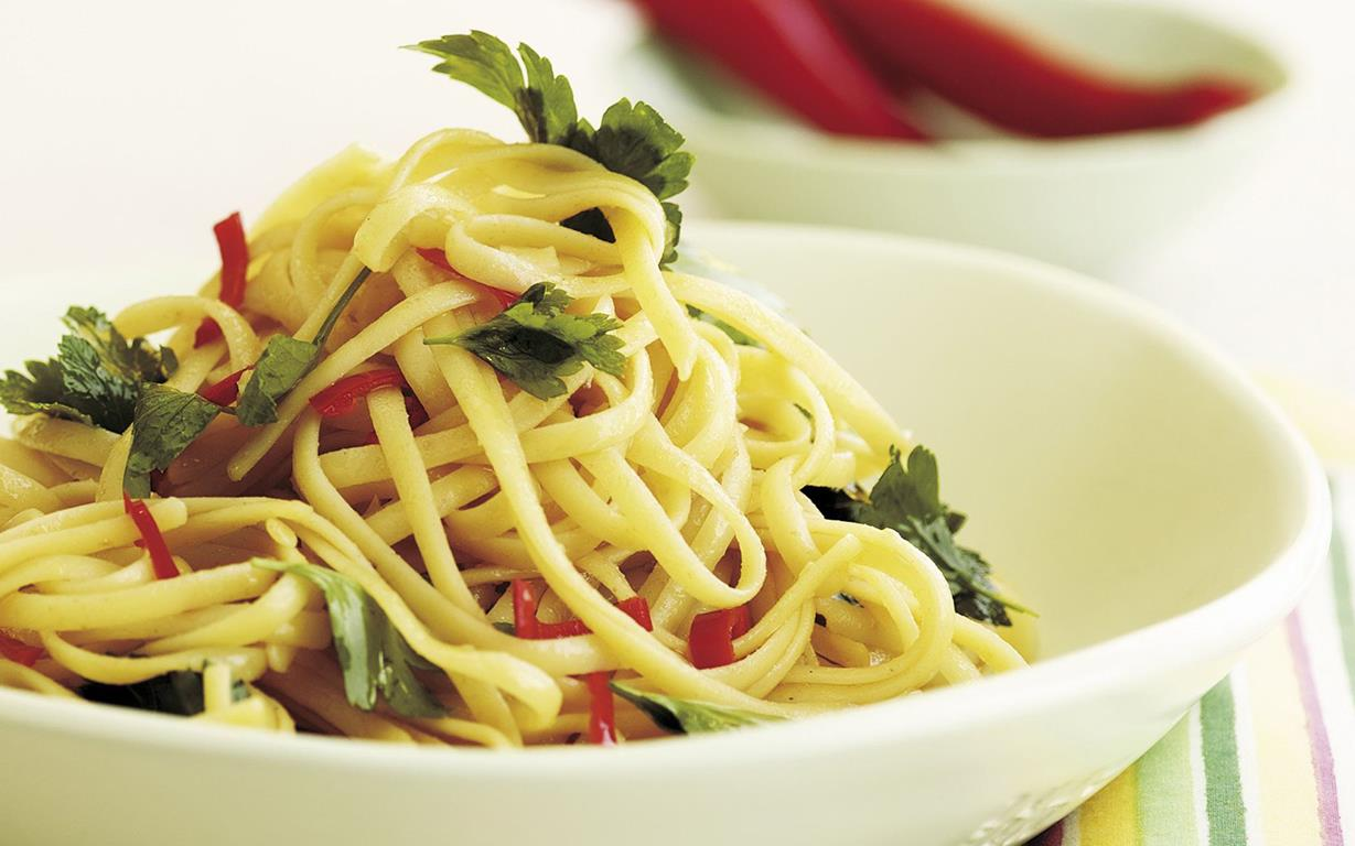 garlic-chilli-pasta
