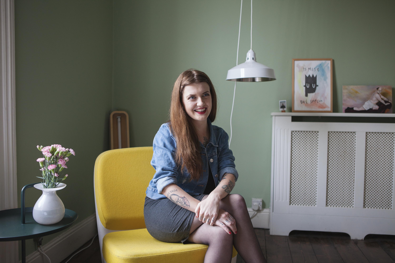 Kathi Burke. Photographer Aoife Herrity