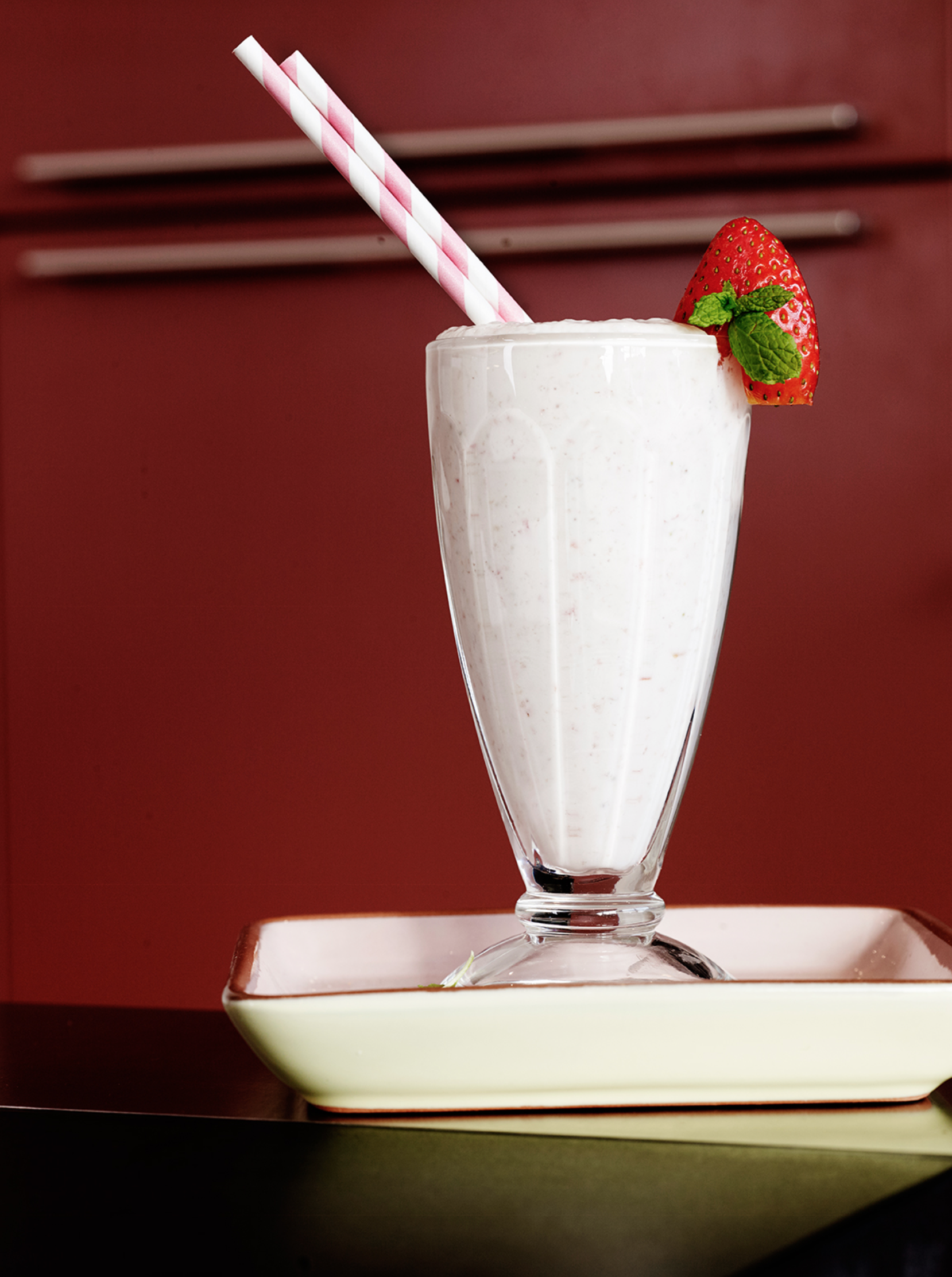 EYB Strawberry Cream Smoothie