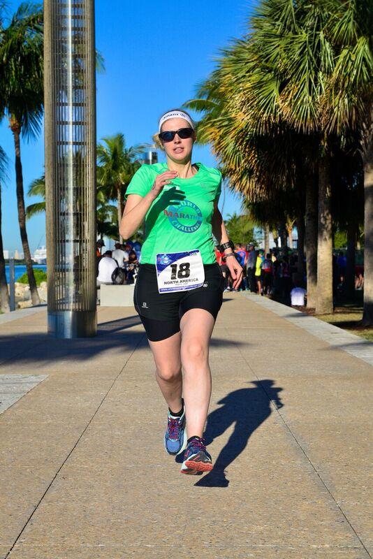 Sinead World marathon challenge