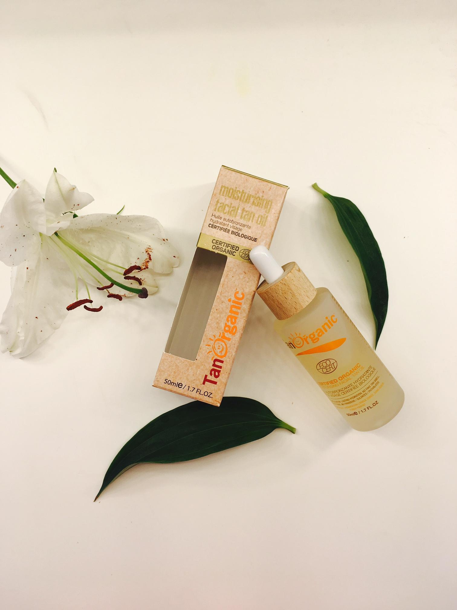 TanOrganic Facial Oil