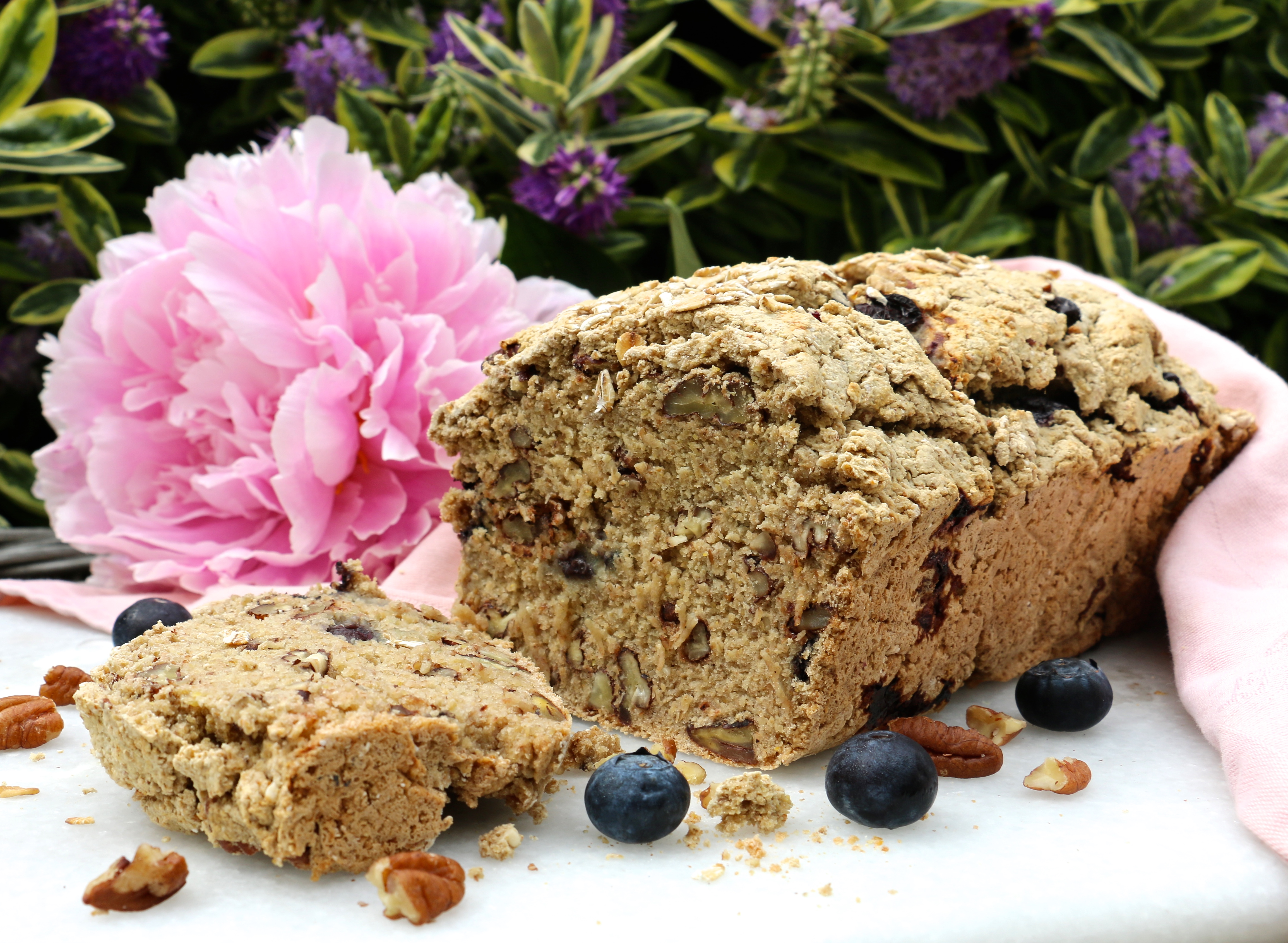 Fabulously Rustic Crispy On The Outside And With Pleasant Pops Of Sweetness From Blueberries Throughout That Buttery Flavour Toasted Pecans Is So
