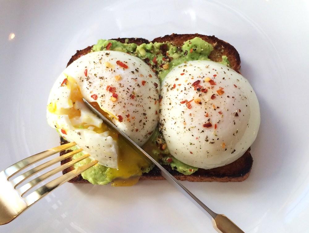 poached-eggs-on-avocado-toast