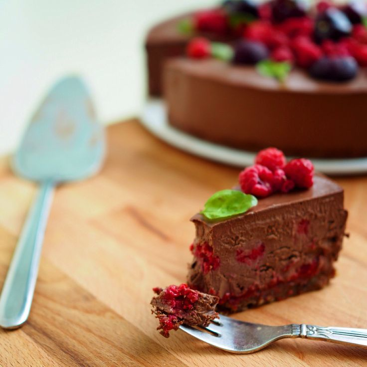 Fully Raw Chocolate Cake