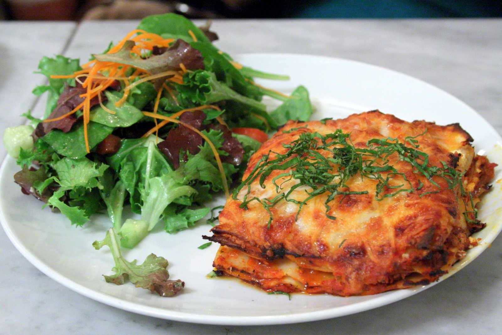Lasagna-and-Salad