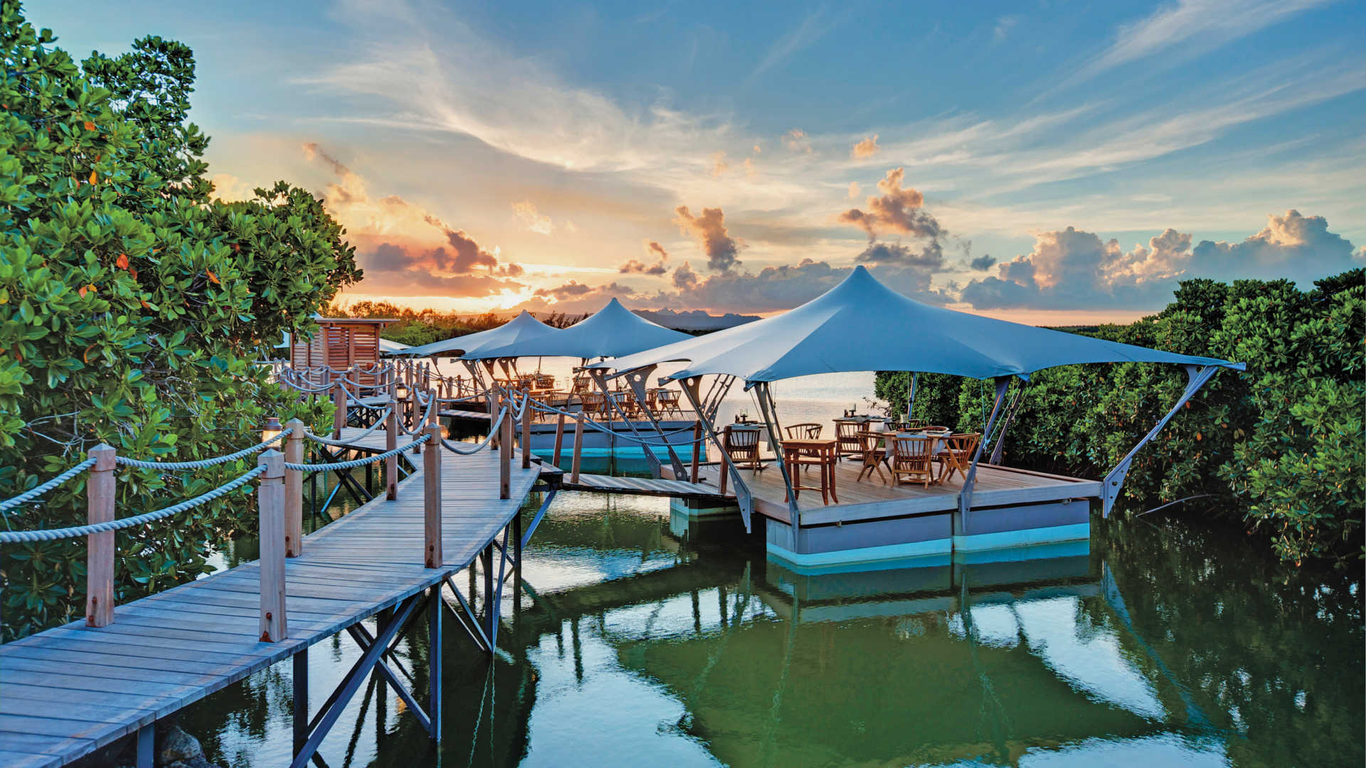 Constance Prince Maurice Floating Restaurant