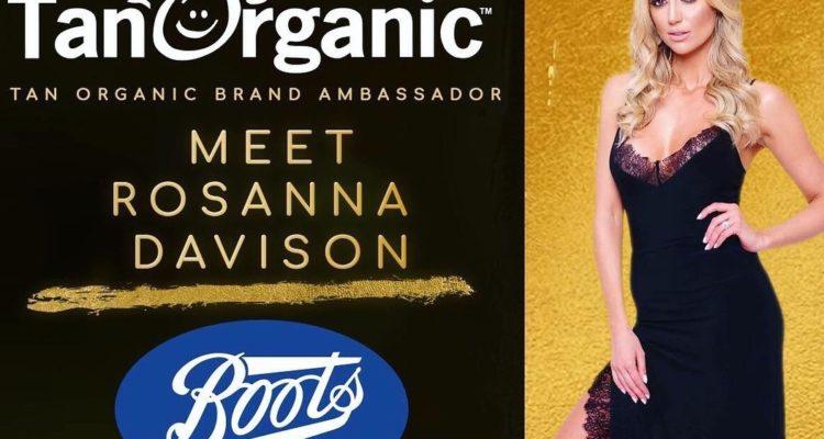 c0323b0584 TanOrganic Boots Events Saturday May 26th! - Rosanna Davison Nutrition